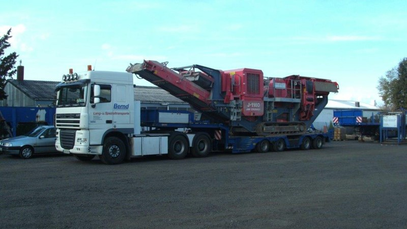 Thomas Bernd Transporte Hunsrueck Baumaschinentransport